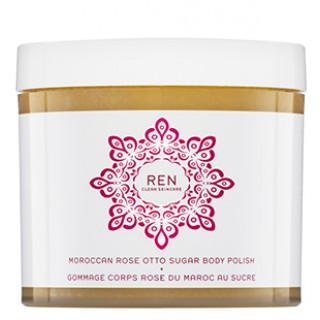 moroccan rose otto sugar body polish 330 ml
