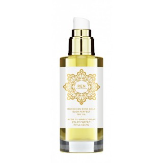 moroccan rose gold glow dry oil 100ml