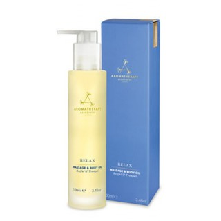 relax massage & body oil 100 ml